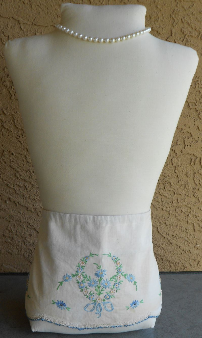Mannequin with apron