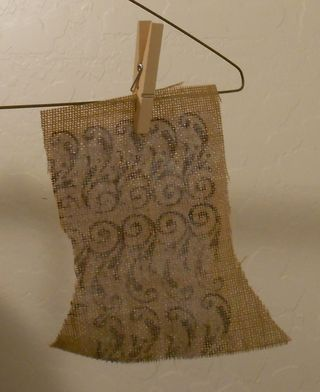Drying the burlap (653x800)