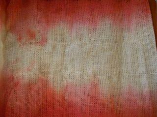 Dyed burlap (800x595)
