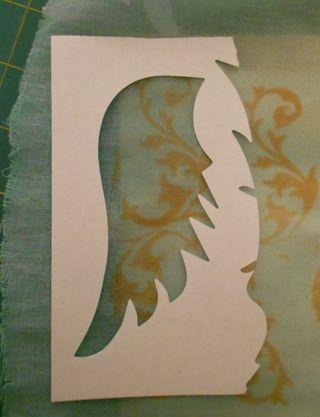 Placing the stencil2 (614x800)