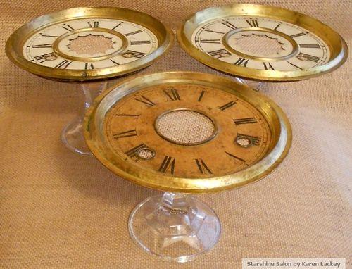 Starshine Salon Clock Stands