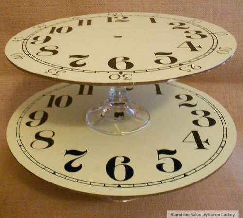 Starshine Salon Clock Stands 2