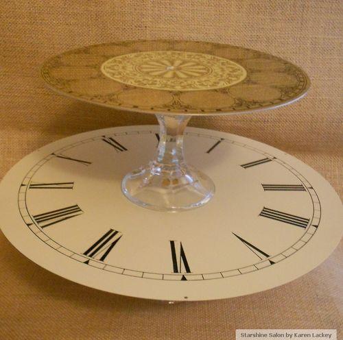Starshine Salon Clock Stands 3