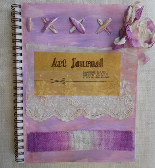 Art journal first page (739x800)