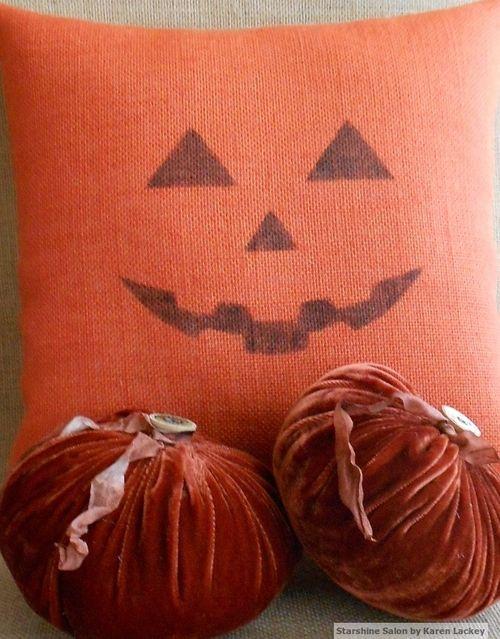 Jack O Lantern Pillow 2 (2)