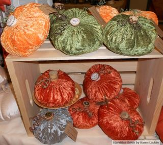 More velvet pumpkins