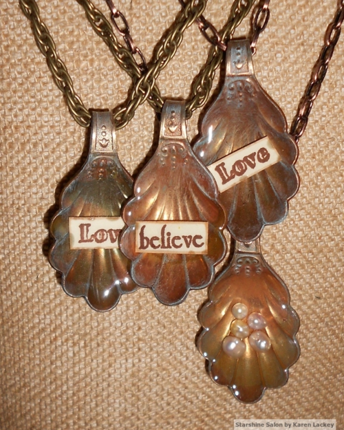 Pendants by Karen Lackey