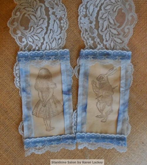 Alice in Wonderland Scarf by Karen Lackey (3)