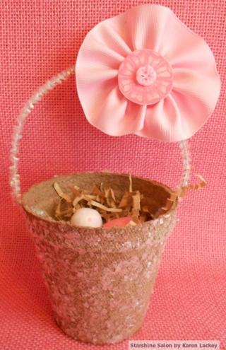 Peat pot Easter basket 3 (2)