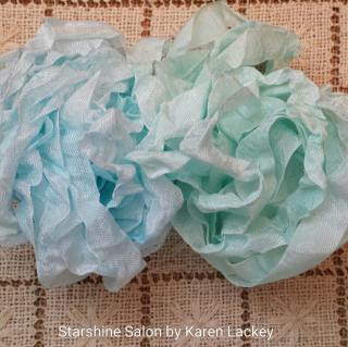 Hand Dyed Seam Binding by Karen Lackey 3