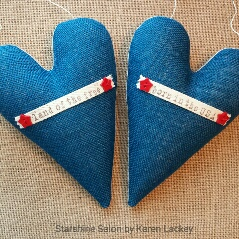 Americana Hearts by Karen Lackey