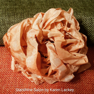 Hand Dyed Seam Binding by Karen Lackey 2